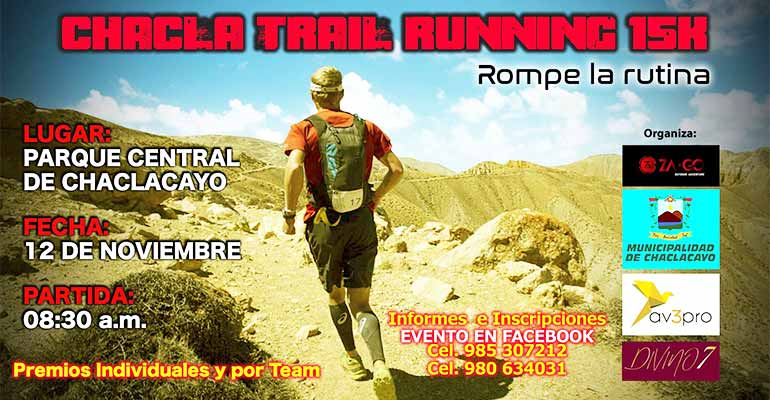 Chacla Trail Running 15K 2017