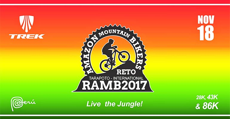 Reto Amazon Mountain Bikers 2017