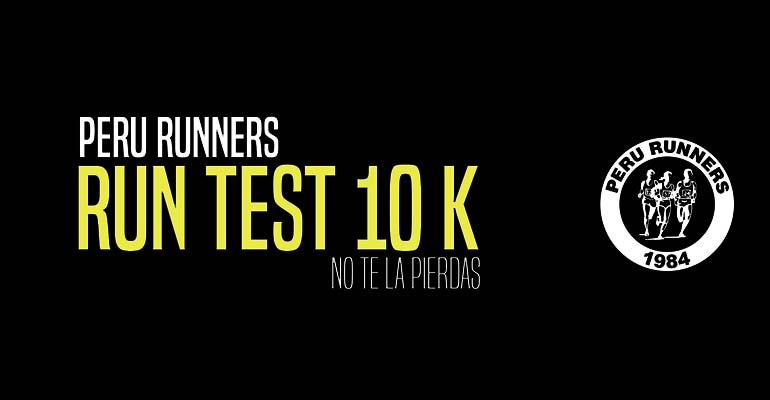 Perú Runners Club - Run Test 10K - 14 Marzo 2017