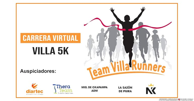 Carrera Virtual Villa 5K 2020
