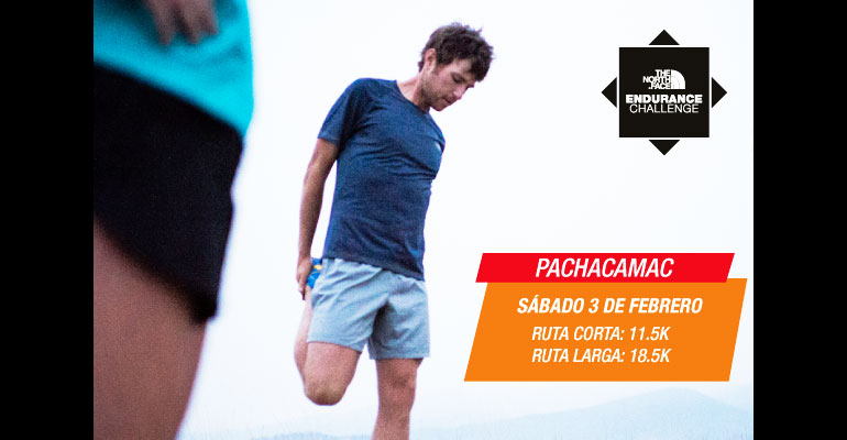 The North Face: Training Trail Pachacamac - 3 Febrero 2018