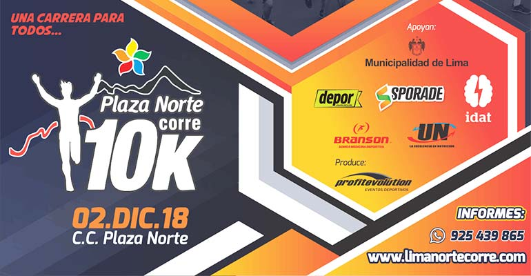 Plaza Norte Corre 10K 2018