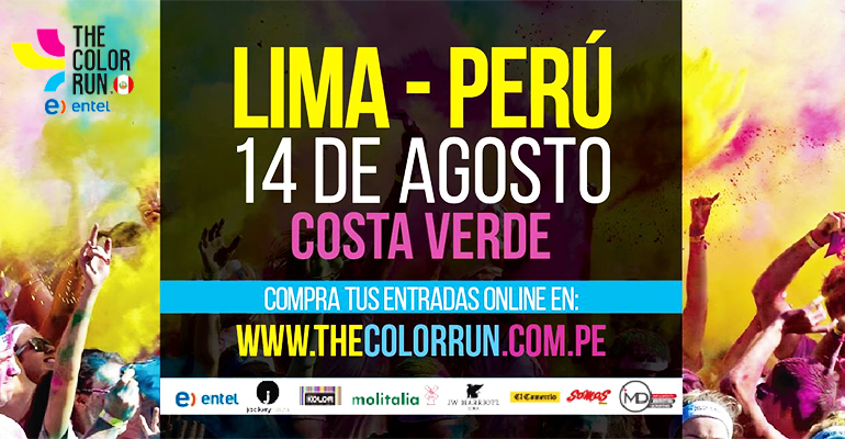 The Color Run Entel Lima 2016