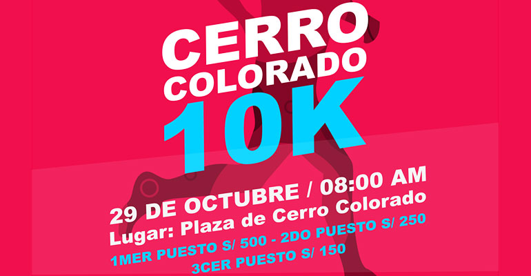 Cerro Colorado 10K 2017