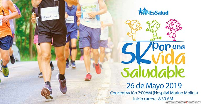 "Carrera 5K ""Por una Vida Saludable"" 2019"
