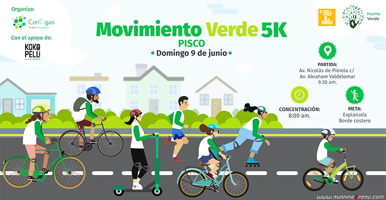 Movimiento Verde 5K Pisco 2019