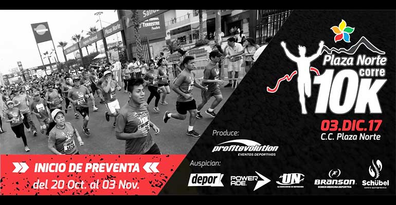 Plaza Norte Corre 10K 2017