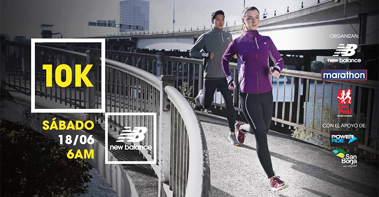 New Balance 10K Training Session - 18 Jun 2016