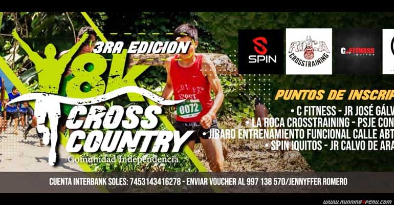 Cross Country Comunidad Independencia 8K 2019