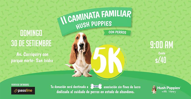 Caminata Familiar Hush Puppies 5K 2018