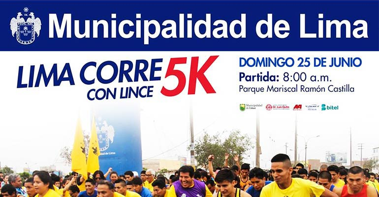 Lima Corre Con Lince 5K 2017