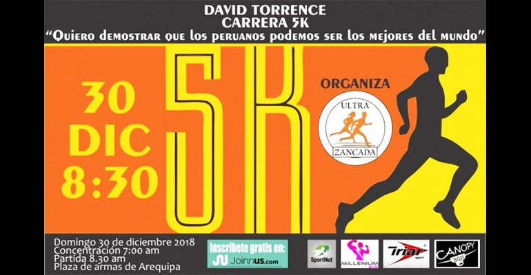 "Carrera 5K ""David Torrence"" 2018"