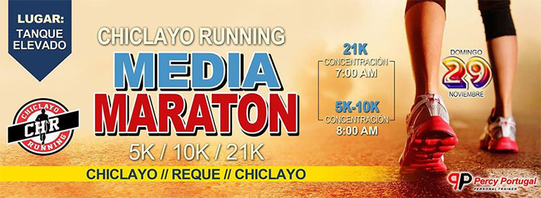 Chiclayo Running Media Maratón 21K