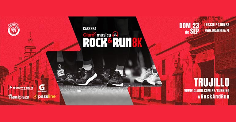 Claro Música Rock & Run 8K Trujillo 2018
